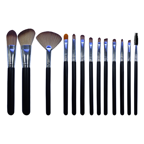 13 pieces makeup brushes  set