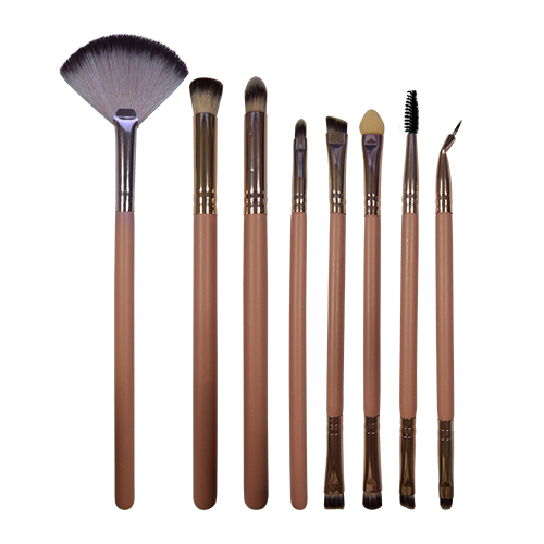 8 pieces makeup brushes set-Lei Shang