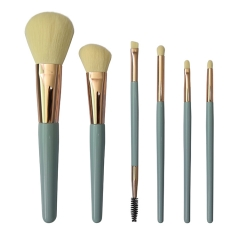 New arrival cosmetic brush with cruelty free synthetic hair makeup brush set