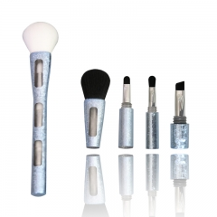 Luxury makeup brush 4 in 1 eyeshadow blending brush